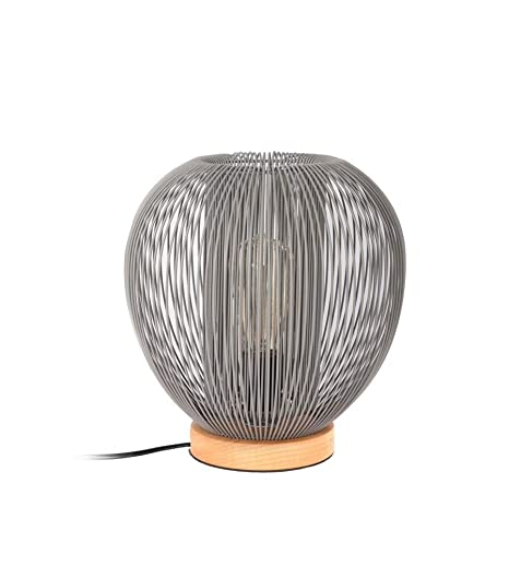 CMP lámpara a mesa bola con cable gris: Amazon.es: Iluminación