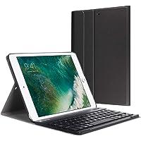 iPad Keyboard Case 9.7 for iPad 2018 (6th Gen)/iPad 2017 (5th Gen)/iPad Pro 9.7 -Bluetooth Wireless Detachable Keyboard - iPad Case with Keyboard -Black