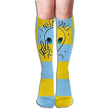 Amazon com: I Need Space Alien Long Stockings Cosplay 20