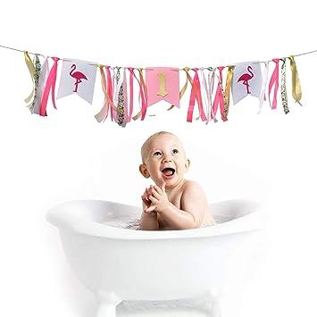 Amazon.com: Bonita pancarta de decoración para fiestas de ...