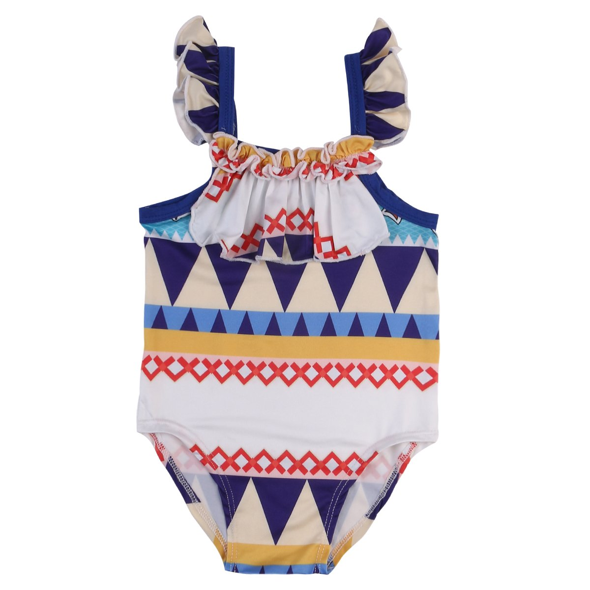 Zekky Baby Girls Swimwear One Piece Swimsuits Beach Wear