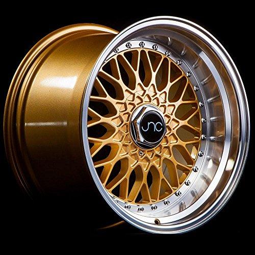 4 bolt gold rims - 9