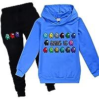 Among Us Game Hoodie Set Kids Jongens Sweatshirt Meisjes T-shirt en broek met lange mouwen