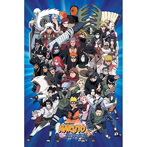 Naruto Characters Poster