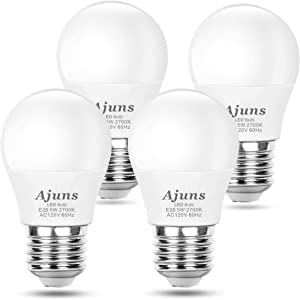 LED Bulb 5W Equivalent 40W 120V Light Bulb Ceiling Fan Light Bulbs, Warm White 2700K A15 LED Energy Saving Bulb, E26 Base, Suitable Domestic Bulb, 4 Pack