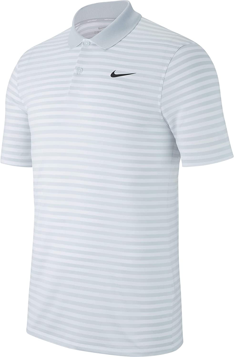 Nike Mens Dry Victory Polo Stripe Left Chest : Clothing