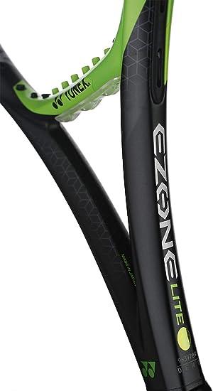 Yonex EZONE Lite (286g - 10.1 oz) Lime Green Tennis Racquet Strung with Custom String Colors (Best Racket for Enhanced Sweetspot & Vibration ...