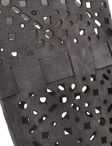 Eu36 us5 5 Las Que Cn36 Disponibles Rodillas Uk4 us6 Zapatos Botas Colores Black Más Mujeres De Toe Hasta Acuden Uk3 Cn35 Aguja Tacón 5 Black Xzz Señalaron qHUTFn