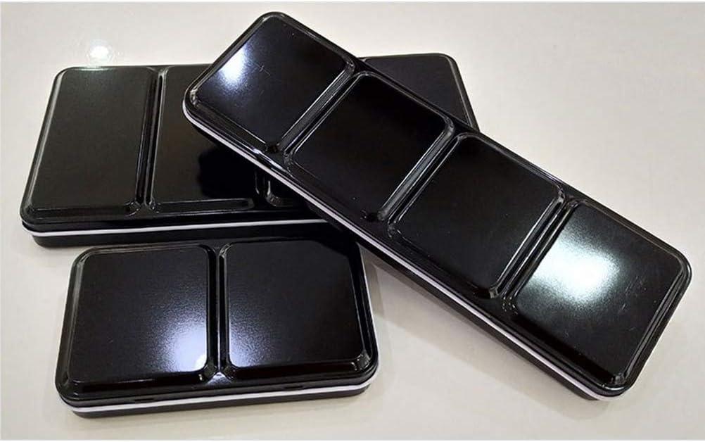 SUPVOX - Caja de acuarela vacía, caja de metal para acuarela: Amazon.es: Hogar