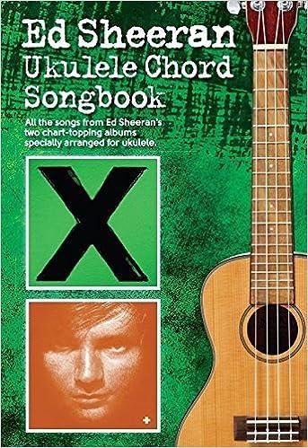 Book Ed Sheeran Ukulele Chord Songbook (2015-09-03)