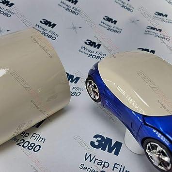 3m 1080 Gloss Light Ivory G79 Vinyl Car Wrap Film Sample 3in X 5in Auto