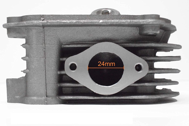 Seals Cylinder Head Assy 150cc GY6 4 Stroke 157QMJ with Valves 0201 Springs Spark Plug