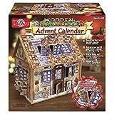 T.S. Shure Wooden Gingerbread House Advent Calendar