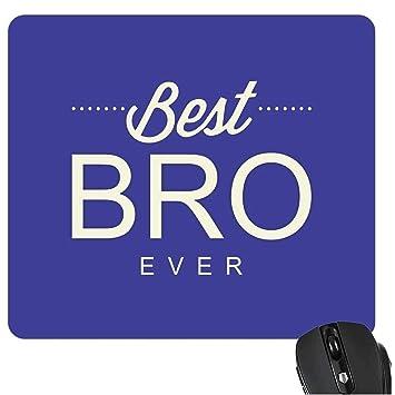 YaYa Cafe Birthday Gift For Brother Mousepad Best Bro Ever Rakhi