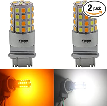 KaTur 7443 7440 7444NA 7440NA 7441 992 Switchback LED Bulbs White//Yellow High Power Extremely Bright 3030 Chipsets with Projector for Turn Signal Lights and Daytime Running Lights//DRL 7443 7444NA 7440 7440NA 7441 992 Pack of 2