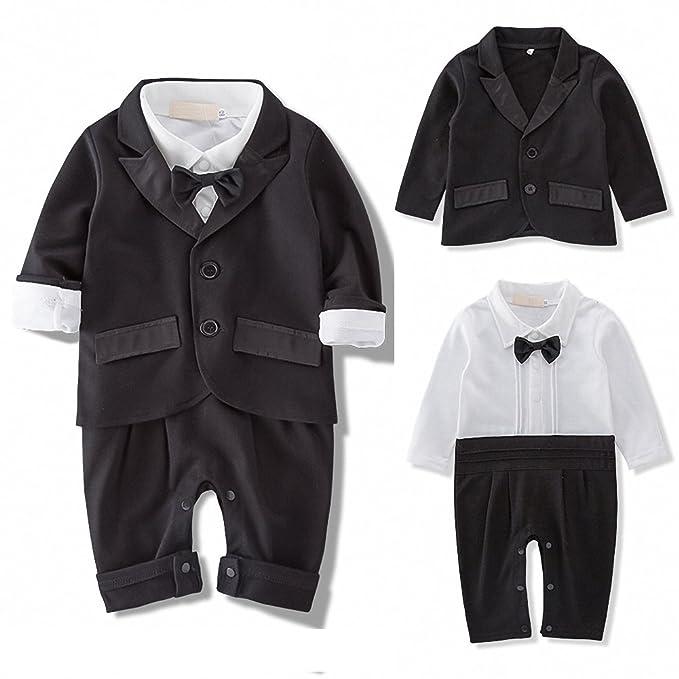 Amazon.com: iooico Baby Boy la ropa conjuntos, 2pcs manga ...