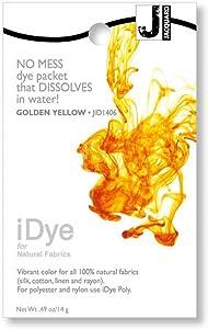 Jacquard Products idye 14gm Golden, Gold Yellow