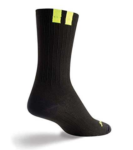 Socks SGX SGX6 Black L//XL Cycling//Running SockGuy