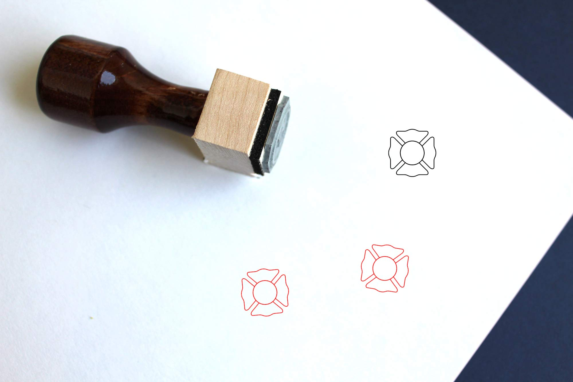 Cross Rubber Stamp (3'' x 3'')