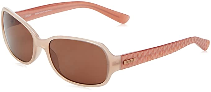 Amazon.com: Guess anteojos de sol GU 7257 Peach 59 mm: Clothing