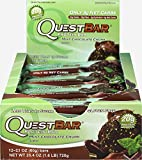 quest protein chocolate chunk - Quest Nutrition Quest Protein Bar Mint Chocolate Chunk-12 per Box