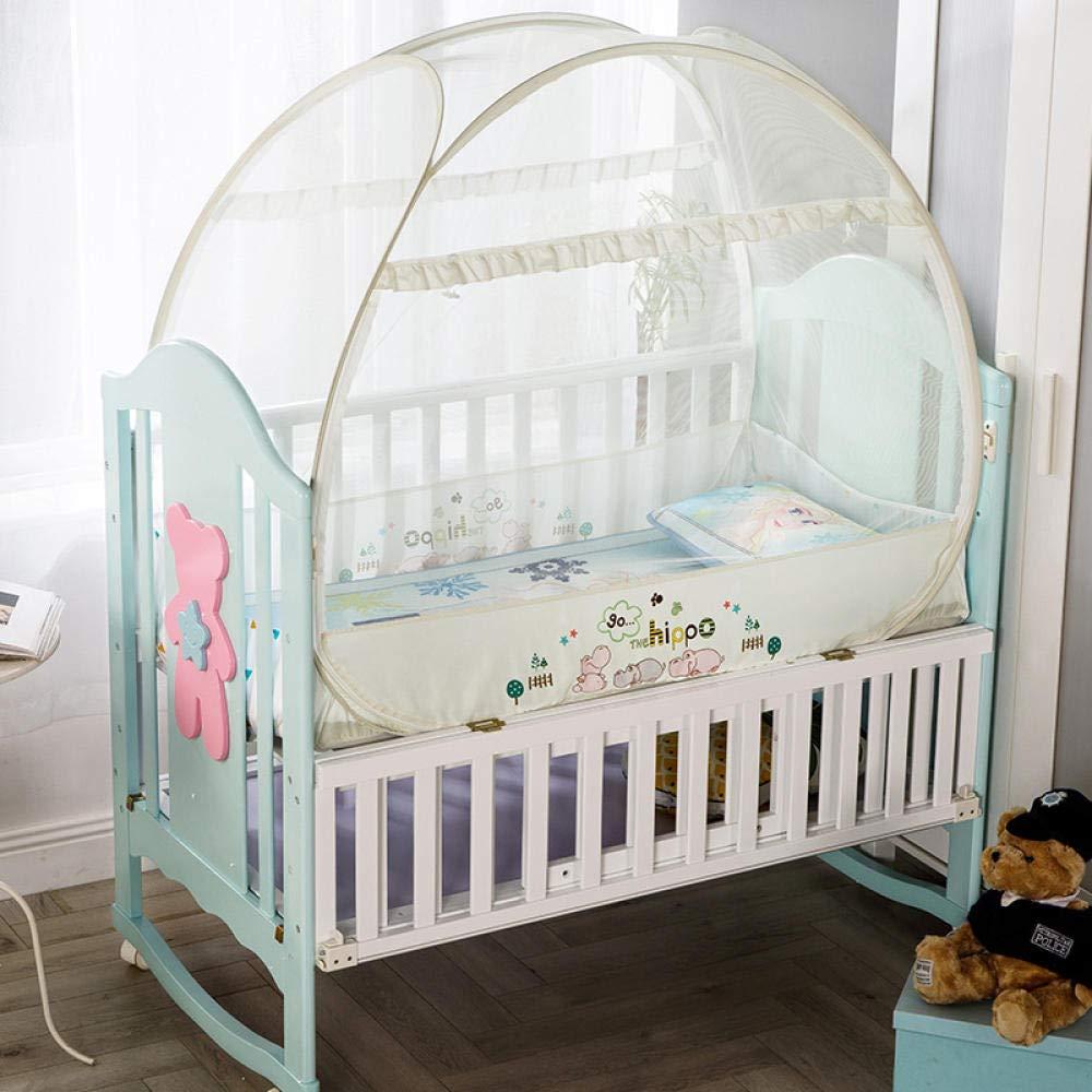 leicht zu knallen und zu lagern LLSTRIVE Moskito Schutz-Zelt,Beste Anti-Moskito Baby-Moskitonetz geeignet f/ür Kinderbett @ 140 * 70cm/_Pink