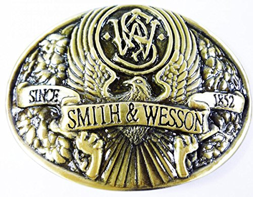 Great Features Of Smith W. Men Belt Buckles Vintage Cowboy Western Metal