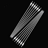 12Pcs Archery Carbon Arrows 32inch Carbon Fiber Hunting Arrows Target Practice Arrows Spine 500 with Arrow Points for Recurve and Compound Bow