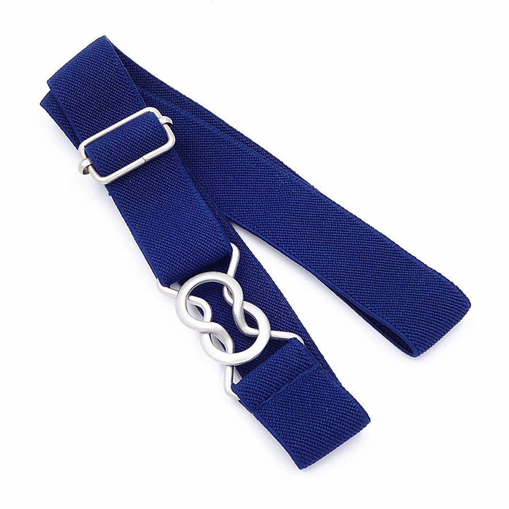 Kids Toddlers Belts Elastic Stretch Adjustable Belt For Small Boys Girls School Uniforms Pants With Easy Buckle