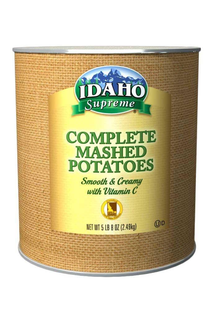 Idaho Supreme Complete Mashed Potato Granules with Vitamin C, 5.5 Pound -- 6 per case. by Idahoan