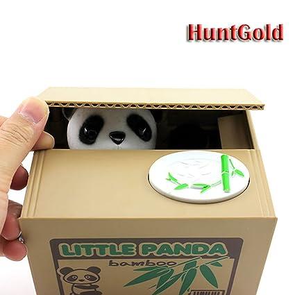 Panda Tirelire Panda Bo/îte Peradix Animal Voler la pi/èce Tirelire Bo/îte d/économie dargent avec voix pour enfant and Adulte