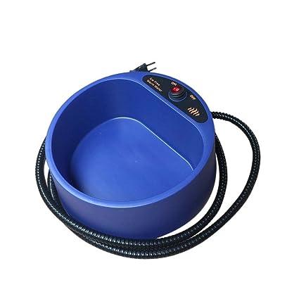 Amazon.com : Electronic Heated Dog Cat Pet Water Bowl Dish Outdoor Thermal Feeder Heater SUNLIGHTAMlightam Supplies