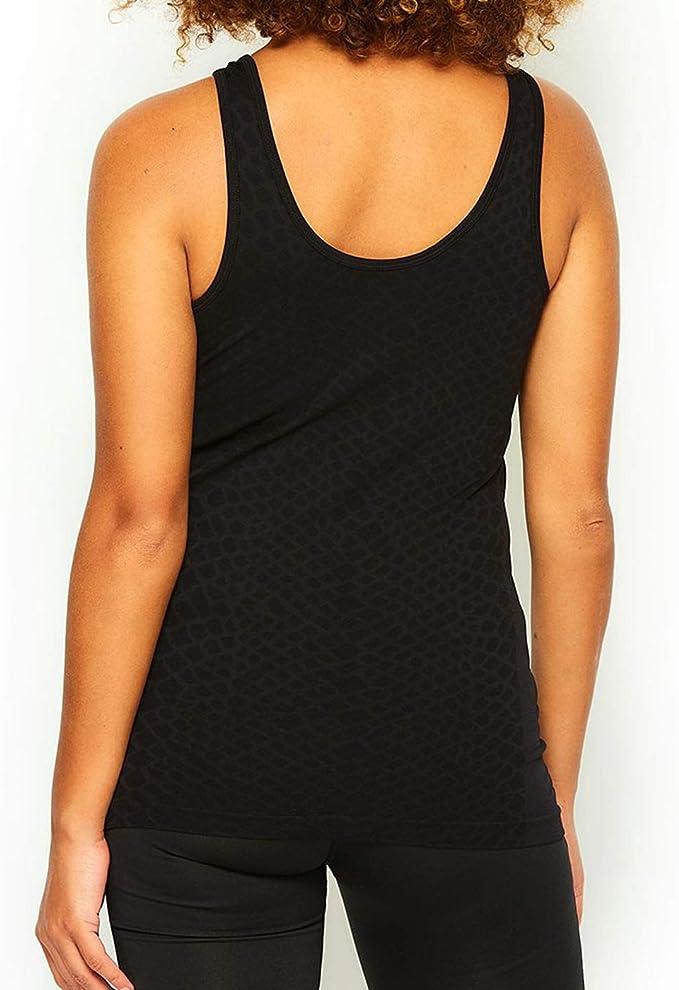 Ellesse Sport Mamba Womens Ladies Fitness Training Sleeveless Vest Black