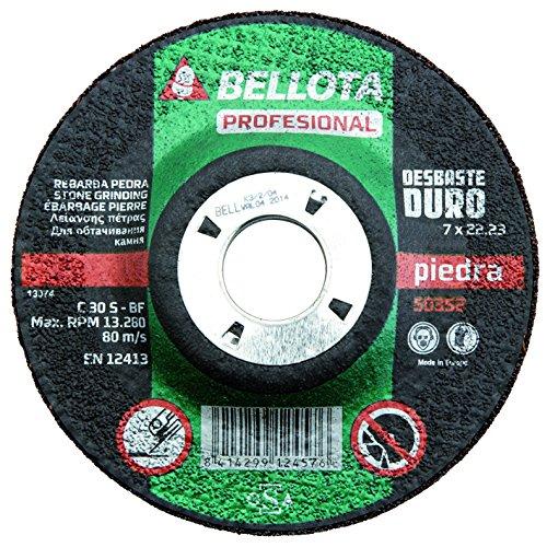 BELLOTA 50352-115 Disco ABRASIVO Profesional DESBASTE Piedra 115MM 50352115