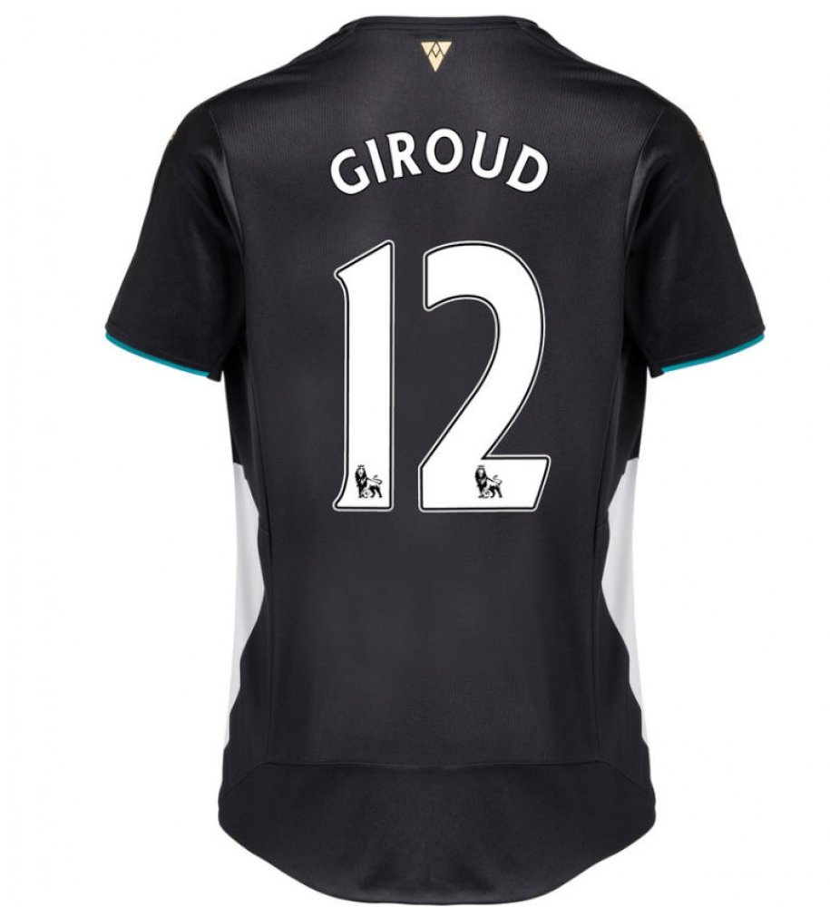 2015-2016 Arsenal Third Cup Shirt (Giroud 12) B077V95XKQNavy XL Adults
