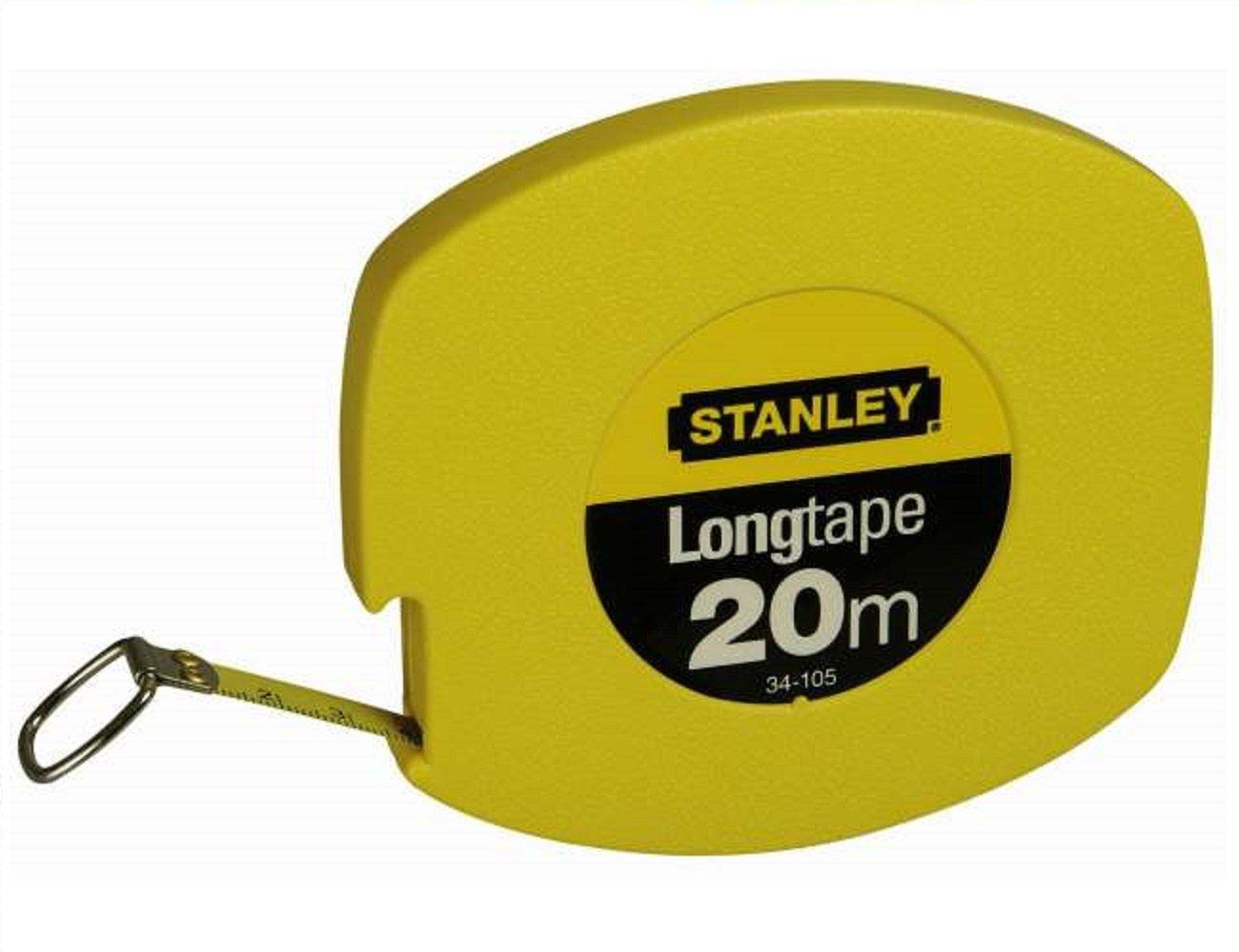 Stanley 0-34-105 Mesure 20 m x 9,5 mm Ruban en acier