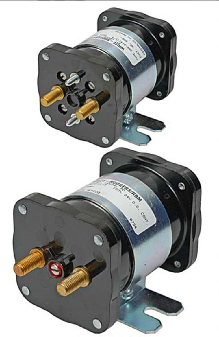 Emerson 586-317111 DC Power Solenoid, 36V, 200 Amp by Emerson Thermostats