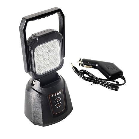 Foco LED Proyector AAIWA 48W 4800LM Lámpara Camping Recargable Luz ...