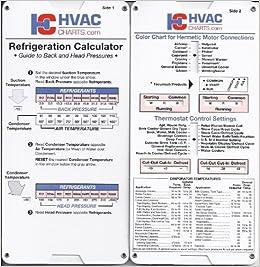 Refrigeration Calculator: HVACcharts: Amazon com: Books