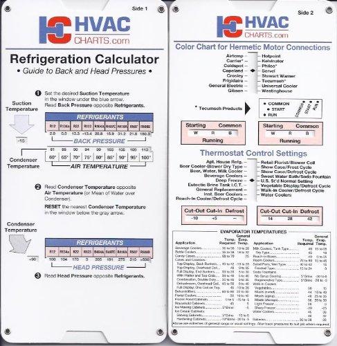 Refrigeration Calculator HVACcharts Books