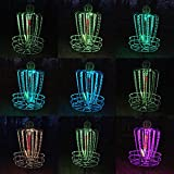 GLOW TIME SPORTS - Set of Two LED Disc Golf Basket Lights, Waterproof, Remote Control (Basket Not Included)
