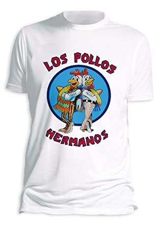286597cb Breaking Bad T-Shirt Los Pollos Hermanos: Amazon.co.uk: Clothing
