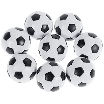 Goldge 8 PCS Tischfußball Kickerbälle,Tischfußball Kugeln Mini Ball ...