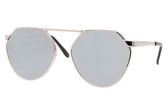 Cheapass Gafas De Sol Redondas Plata Dorado Espejadas Calidad UV400 Diseño Gafas unisex