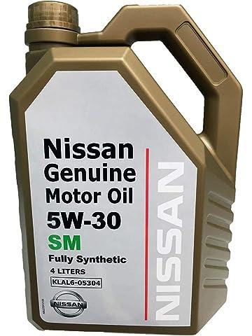 NISSAN MOTOR OIL 5W-30 SM (4 LITERS) 10000 KM