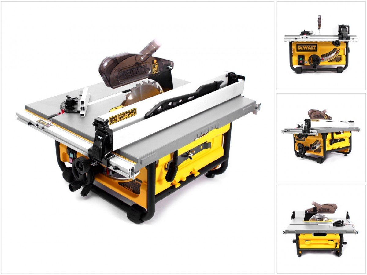 Sierra de mesa de bajo peso Dewalt DW 745-1700W 250 mm: Amazon.es ...