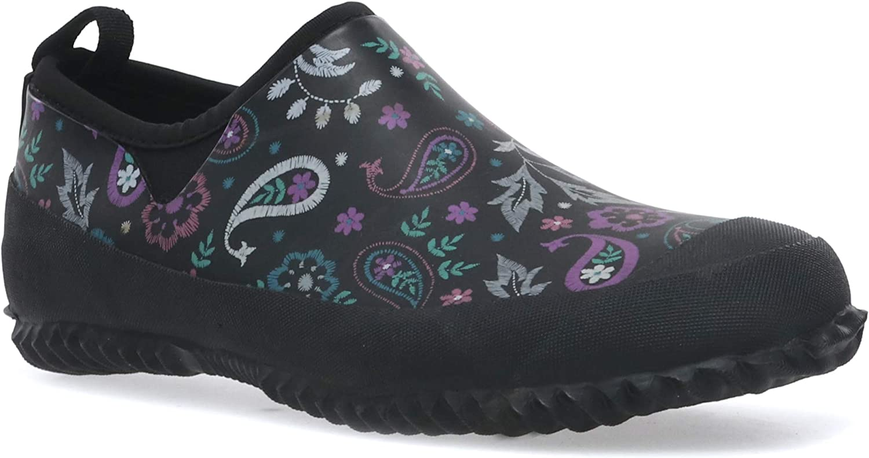 Western Chief Women's Waterproof Neoprene Garden Shoes with Memory Foam Insole Rain