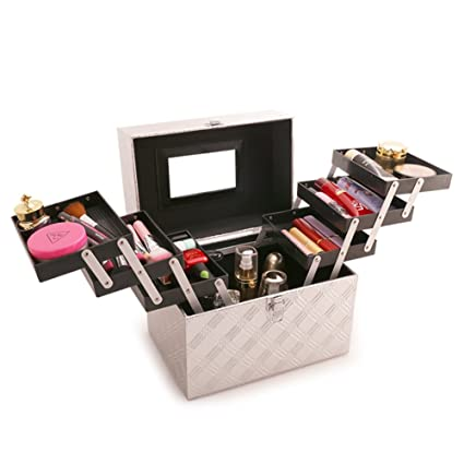 Caja cosmética bolso cosmético cosméticos aire libre viajes moda] baño organizador de maquillaje maquillaje maquillaje