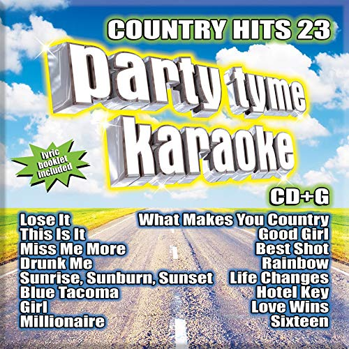Country Hits 23 [16-song CD+G]