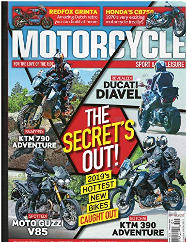Motorcycle Sport & Leisure Magazine September 2018